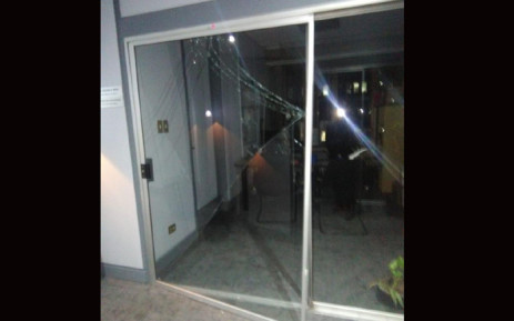 A burglary at the Joburg city council offices in Braamfontein. Picture: Herman Mashaba/Twitter.