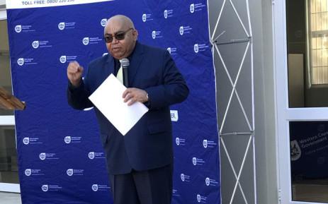 FILE: Western Cape Social Development Department Albet Fritz. Picture: @AlbertFritz_DA/Twitter