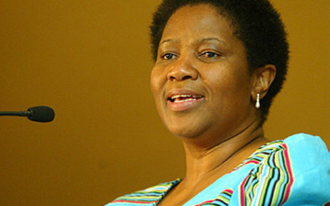 Former South African deputy president Phumzille Mlambo-Ngcuka. Picture: SAPA