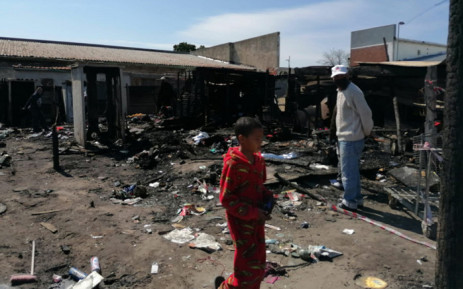 Three people died and two others were being treated for smoke inhalation following a fire in Ravensmead in Cape Town. Picture: Supplied.