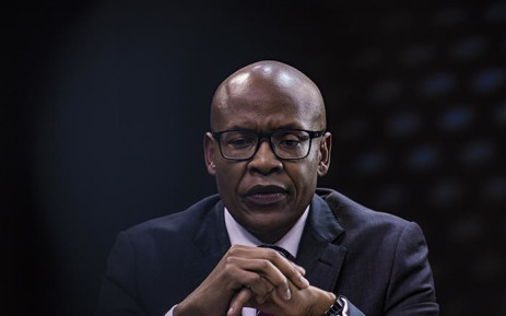 Businessman Mzwanele Manyi announces three new shareholders at the Afro World View studios in Midrand on 5 June 2018. Picture: Sethembiso Zulu/EWN