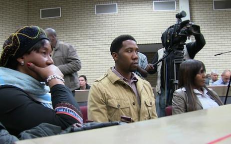 Makaziwe, Ndaba and Ndileka Mandela in Mthatha High Court. Picture: EWN