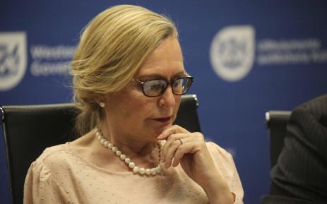 FILE: Western Cape Premier Helen Zille. Picture: Cindy Archillies/EWN.