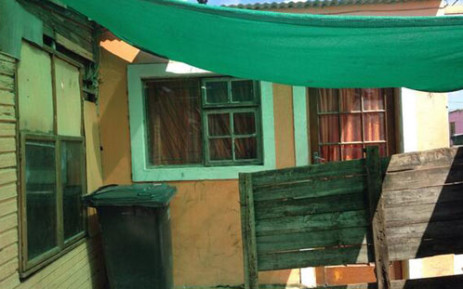 The home of the toddler who was allegedly murdered by his father in Delft. Picture: Giovanna Gerbi/EWN