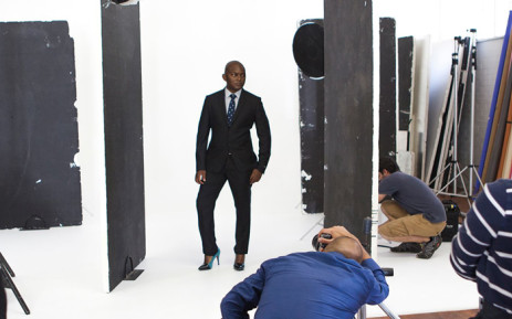 5fm DJ Euphonik has been roped into 'Marie Claire's' latest campaign against women abuse. Picture: Supplied.