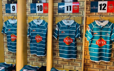 The Griquas changing room. Picture: @GriquasRugby/Twitter