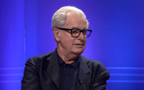 A screengrab shows Lord Bell during an interview with BBC Newsnight's Kirsty Walk. Picture: youtube.com
