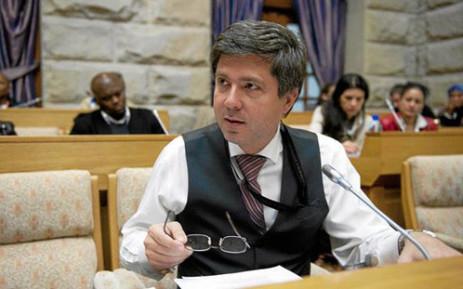 Inkatha Freedom Party (IFP) Member of Parliament (MP) Mario Oriani-Ambrosini. Picture: Facebook.