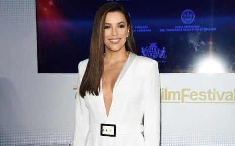 Eva Longoria arrives at the Women in Motion dinner at Cannes. Picture: @EvaLongoria/Twitter