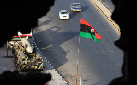 Libyan flag. Picture: AFP