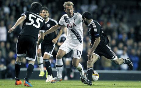 Tottenham Hotspur striker Harry Kane during a Uefa Europa League match. Picture: Tottenham Hotspur/Facebook.