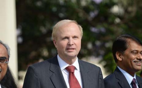 FILE: British Petroleum Groups Chief Executive, Bob Dudley (C). Picture: AFP.