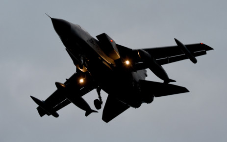 A Tornado reconnaissance jet of the German army Tactical Air Force Squadron 51 Immelmann lands on 2 December, 2015 in at the airbase in Jagel, northern Germany. Germany offered France Tornado reconnaissance jets, a naval frigate, aerial refuelling and satellite images to back the fight against the Islamic State jihadist group. Picture: AFP.
