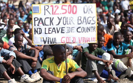 FILE: Wage talks between SA bullion producers and unions started in June with NUM and Amcu. Picture: EWN.
