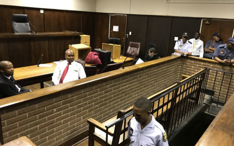 The courtroom at the Bloemfontein magistrates court where suspects, including a member of the Gupta family, are expected to appear on 15 February 2018. Picture: Barry Bateman/EWN
