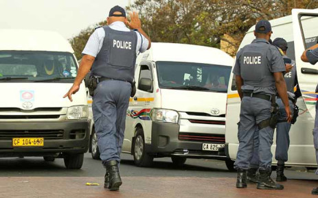 FILE: The violence is linked to a dispute over routes. Picture: SAPS.