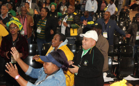 FILE: Western Cape ANC provincial secretary Faiz Jacobs (in cap) at the party's meeting in Athlone on 9 December 2018. Picture: Supplied