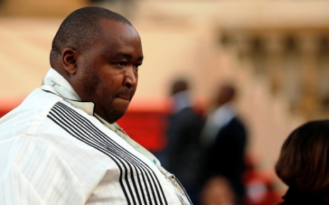 FILE: Controversial businessman and nephew of South African President Jacob Zuma, Khulubuse Zuma arrives for his uncle's inauguration ceremony in his final term at the Union Buildings in Pretoria on 24 May 2014. Picture: AFP