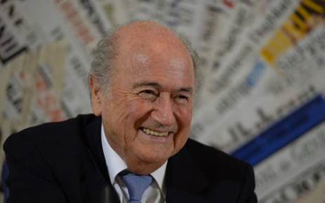 FILE:Sepp Blatter has encouraged fans to be optimistic that the World Cup in Brazil will be a success. Picture: Facebook.