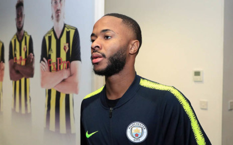 Manchester City forward Raheem Sterling. Picture: @ManCity/Twitter.