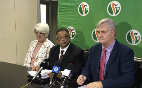 FILE: Peter Marais (c) will run as the Freedom Front Plus premier candidate for the 2019 general elections. Picture: EWN