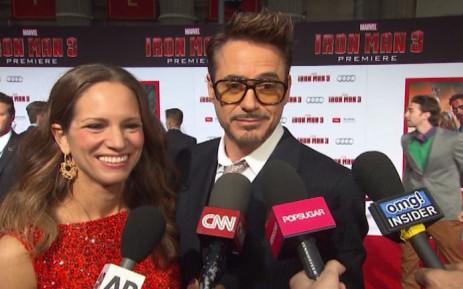 Hollywood hunk Robert Downey Jr. Picture: CNN