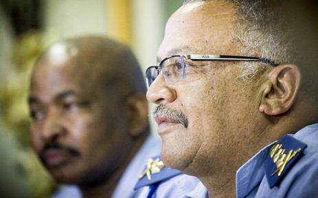 FILE: Western Cape Police Commissioner Arno Lamoer. Picture: Thomas Holder/EWN