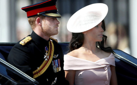 The Duke and Duchess of Sussex attend Trooping the Colour parade on 9 June 2018. Picture: @RoyalFamily/Twitter