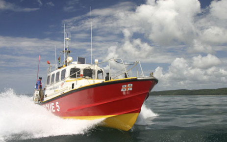 An NSRI rescue boat in action. Picture: Andrew Ingram/NSRI