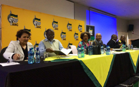 African National Congress (ANC) members at the party's National Executive Committee (NEC) meeting in Irene, Tshwane. Picture: @MYANC.
