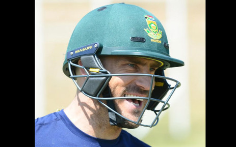 South Africa captain Faf du Plessis. Picture: @OfficialCSA/Twitter