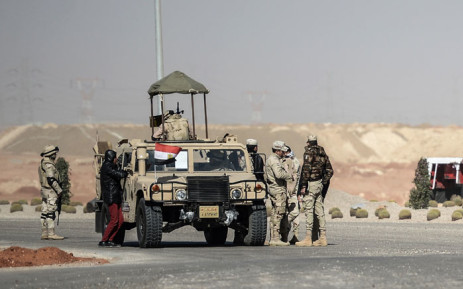 FILE: Members of the Egyptian security forces. Picture: AFP