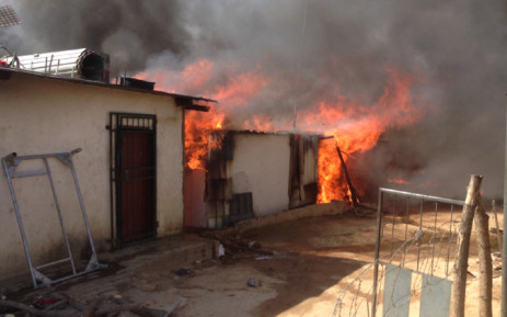 FILE: Investigations have begun into the cause of the blaze which has since been extinguished. Picture: Reinart Toerien/EWN.