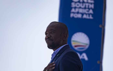 DA leader Mmusi Maimane at the party's election manifesto launch at Rand Stadium, Johannesburg, on 23 February 2019. Picture: Kayleen Morgan/EWN