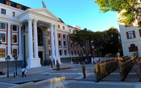 Preparations are underway for SONA 2014.  Picture: GCIS