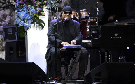 Singer/songwriter Stevie Wonder performs onstage during Nipsey Hussle's Celebration of Life at STAPLES Centre on 11 April 2019 in Los Angeles, California. Picture: AFP