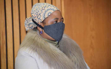 FILE: Former first lady of Lesotho Maesaiah Thabane appears in the magistrates court in Maseru on 3 June 2020. Picture: AFP.