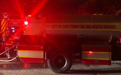 A fire engine. Picture: Graig-Lee Smith/EWN