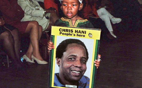 The late leader of the South African Communist Party, Chris Hani, who was assassinated outside his home in Dawn Park in Boksburg on 10 April, 1993. Picture: AFP.