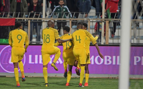South Africa beat Libya 2-1 in their Afcon qualifier Group E match thanks to the brilliant Percy Tau. (AFP)