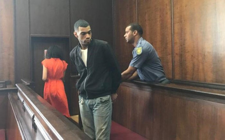 Ameerudien Peters, the man accused of the rape and murder of toddler Jeremiah Ruiters, appears in the Western Cape High Court on 5 November 2019. Picture: Lauren Isaacs/EWN