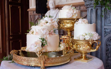 The Wedding Cake By Claire Ptak Of London Based Bakery Violet Cakes Is Pictured In