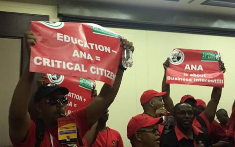 Teachers unions plan to boycott the ANAs. Picture: Govan Whittles/EWN.