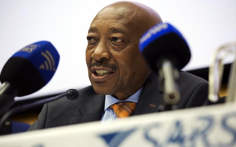 FILE: Suspended South African Revenue Service Commissioner Tom Moyane. Picture Sethembiso Zulu/EWN