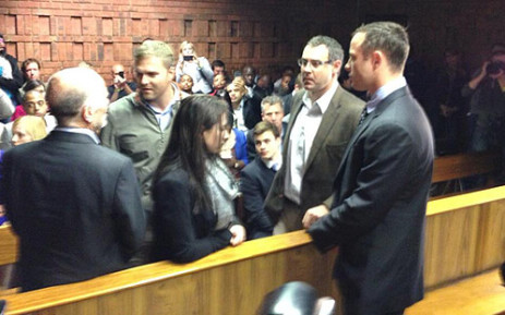 Oscar Pistorius arrives for his court appearance on 4 June 2013. Picture: EWN
