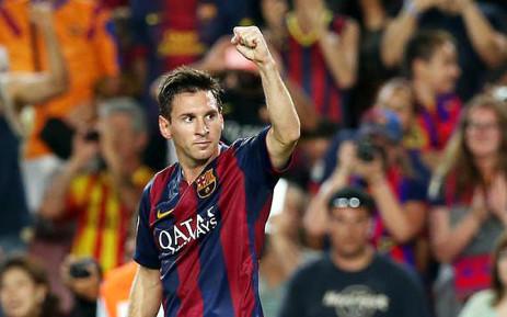 FILE: Barcelona's Lionel Messi. Picture: Official Barcelona Twitter account: @FCBarcelona.