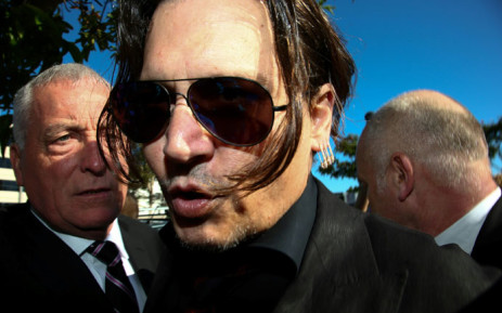 FILE: US actor Johnny Depp. Picture: AFP