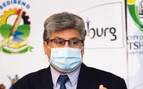 Professor Bruce Mellado, member of Gauteng Premier's Advisory Committee (PAC) on COVID-19, gives an update on the province's fight against the virus on 24 June 2021. Picture: Twitter/@GautengProvince