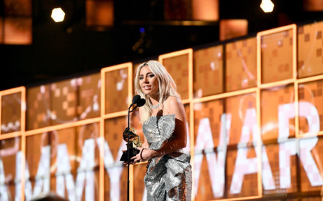 Lady Gaga accepts Best Pop Duo/Group Performance for 'Shallow' onstage during the 61st Annual GRAMMY Awards at Staples Center on 10 February 2019 in Los Angeles, California. Picture: Emma McIntyre/Getty Images for The Recording Academy/AFP