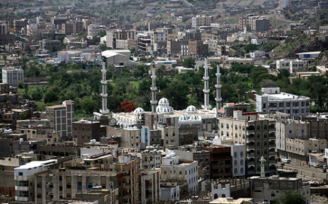 The southern city of Ta'izz in Yemen. Picture: AFP
